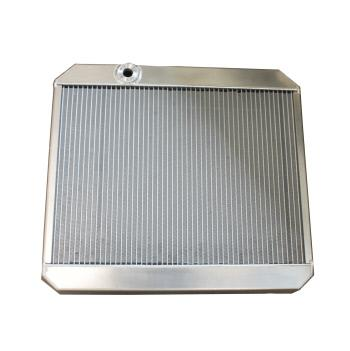 E Type Series 2  Aluminum Radiator / Electric Fan Kit