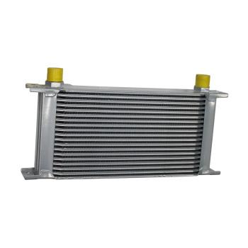"OIL COOLER, 19 Rows, 2"" X 5.75"" X 11""."