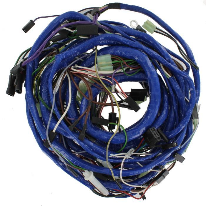 search mgb electrical components > wiring harnesses wiring harness main vinyl rd from c471001 to cc511290 1979 early 1980 main harness vinyl wrapped